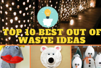 best out of waste ideas for kids in 2020